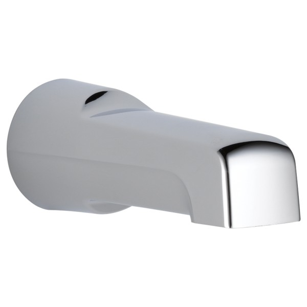 "Delta-Delex-Brizo | U1012-PK | DELTA U1012-PK NON-DIVERTER TUB SPOUT 6-1/2"" CP  CHROME 1/2 OR 3/4 IPS"