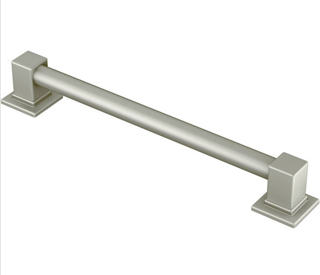 "Moen | YG8824BN | MOEN YG8824BN 24"" GRAB BAR BN BRUSHED NICKEL"